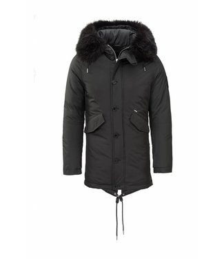 Zumo Coats MAC-KEEN Black
