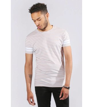 Zumo-T-shirts-FRANKIE-X STRIPE-Kit White