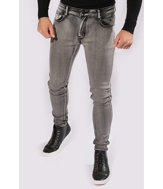 Zumo-Pants-STEVE-SPRAYED-Denim Grey
