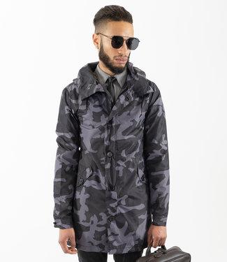 Zumo Coats DELRAY-CAMO DarkGrey