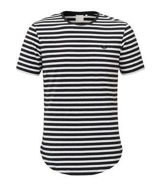 Zumo-T-shirts-BUNDY- DENIM STR-Black Melee