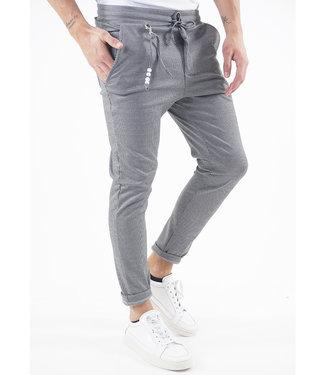 Monavoid-Pants-Diviano-Pied-White/Black