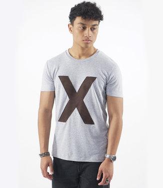 Monavoid-T-shirts-PATCHBARBARA-X-Grey/Melange