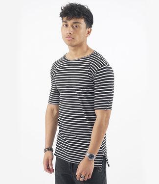 Zumo-T-shirts-PUMAREDA-STRIPE-Black