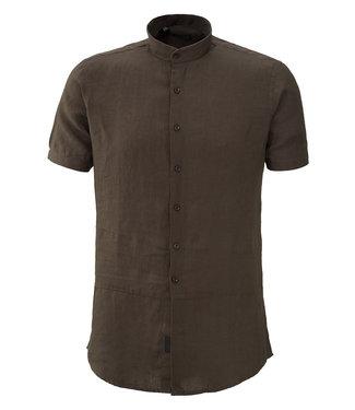 Zumo Shirts WILLIS-LINEN Anthra