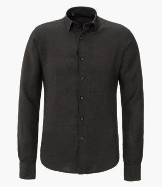 Zumo Shirts DORON-LINEN Black