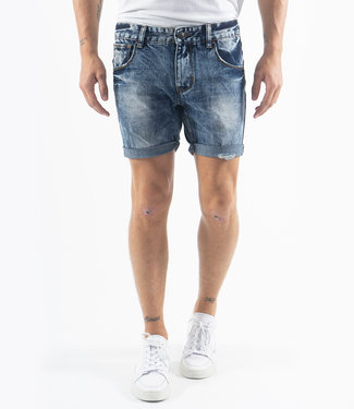Zumo Shorts PHIL-DAMAGED DenimBlue