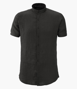 Zumo Shirts WILLIS-LINEN Black