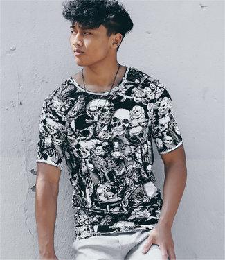 Zumo-T-shirts-TESCHIO-PRINT-Black