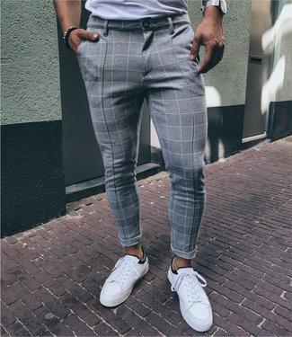 Zumo Pants ZEDD-CHECK LightGrey