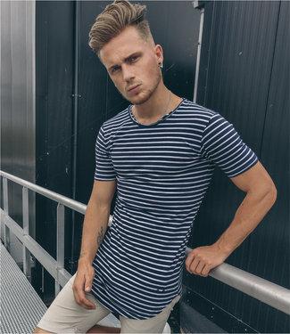 Zumo-T-shirts-SCHORIPOTO-STRIP-Navy