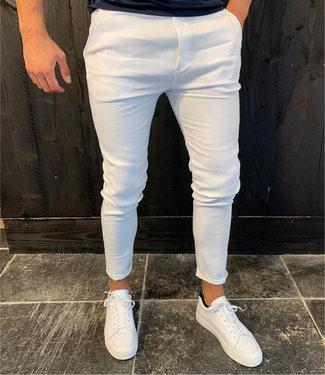 Zumo Pants VISGRADEN-LINEN White