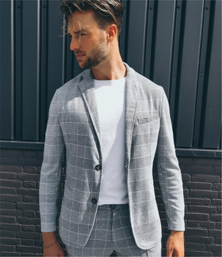 Zumo-Blazers-ALPARE-Check-Light-Grey