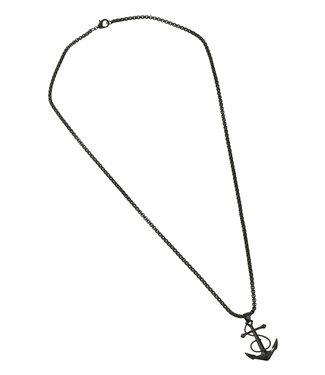 Zumo-Necklace-SN39994-Matt-Black
