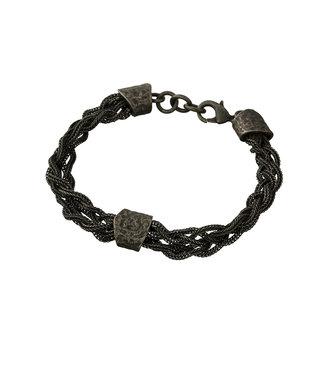 Zumo-Bracelet-SB39980-Dark-Silver