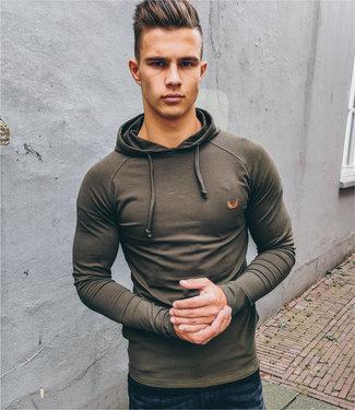 Zumo Sweatshirts HOODIE-Q Army