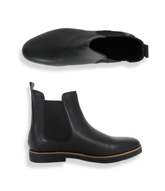 Zumo Shoes CARNABY-LEATHER Black