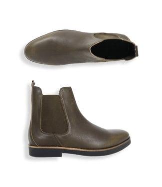 Zumo Shoes CARNABY-LEATHER Kahki