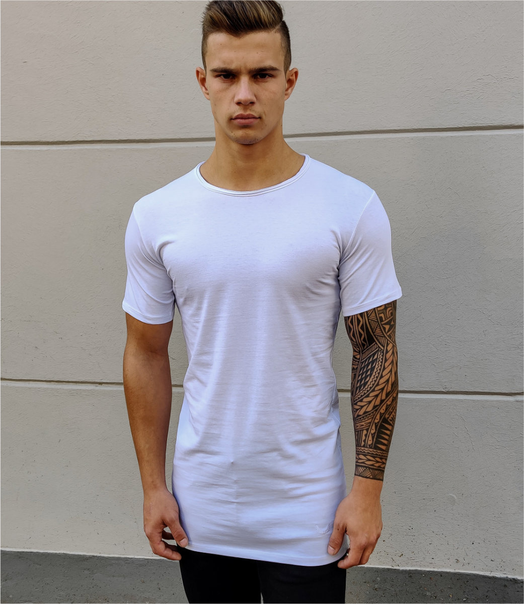 Zumo Slim Fit TShirts SCHIO White