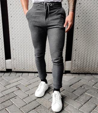 Zumo-Pants-FOWEY-CHECK-Anthra/Black
