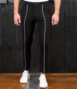 Zumo Pants ZEDD-CREASE-PIPING Black