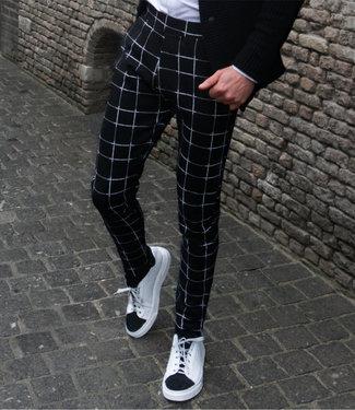 Zumo-Pants-VISGRADEN-PM-DIAMOND-Black/White