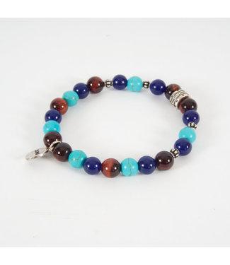Zumo Bracelets SB39968 TurqBlue