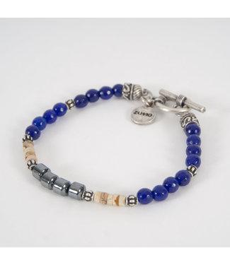 Zumo-Bracelet-SB39969-Dark-Blue