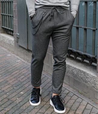 Monavoid Pants DIVIANO-SPIGA BlackWhite