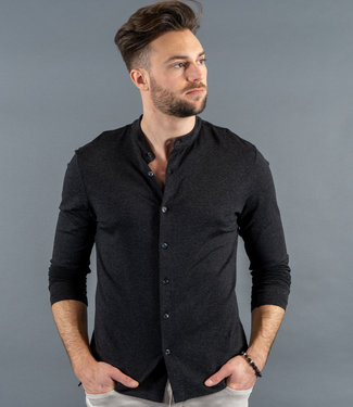 Zumo Shirts CRESTON-PLAIN Anthra