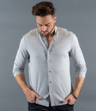 Zumo Shirts CRESTON-PLAIN Grey