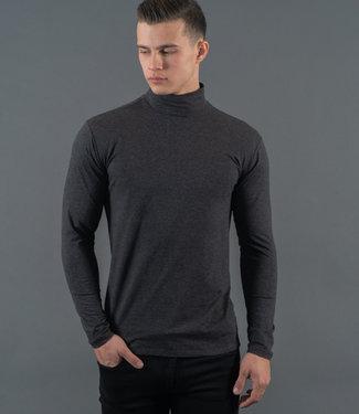Zumo-T-shirts-TURTLE-V-LS-Black-Melee