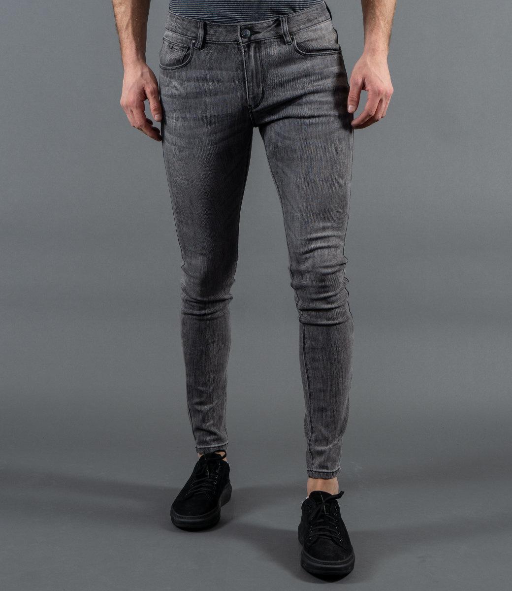 Zumo Jeans STEVE-WORN GreyBlack