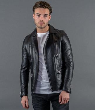 Zumo LeatherJackets Vincent Black