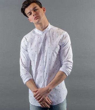 Zumo Shirts CLAPTON-ANCHOR WhiteNavy