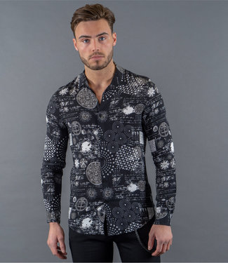 Zumo Shirts PESCHY-ASTRO BlackWhite