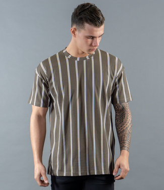 Monavoid-T-shirt-DICIAMO-STRIPES-Army