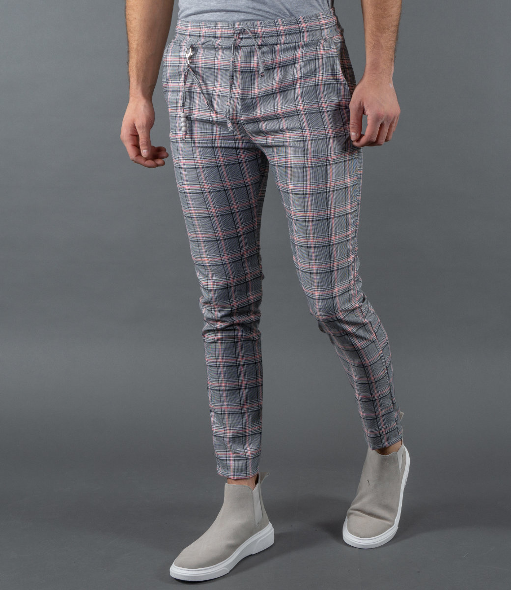 Monavoid Pants DIVIANO-BARREL Grey