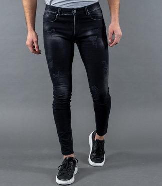 Zumo Jeans STEVE-EDGE Black