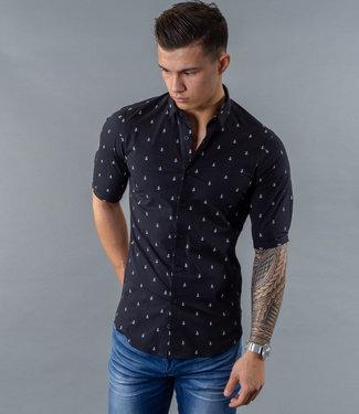 Zumo Shirts BAKER-ANCHOR NavyWhite
