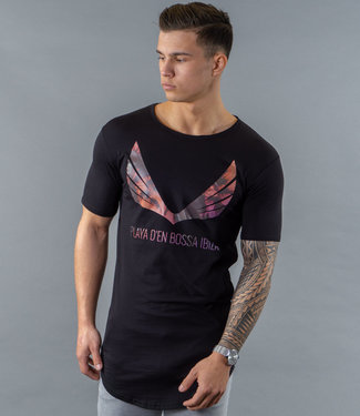 Zumo-T-shirts-SCHORIPOTO-PALM-WING-Black