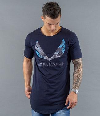 Zumo-T-shirts-SCHORIPOTO-PALM-WING-Navy