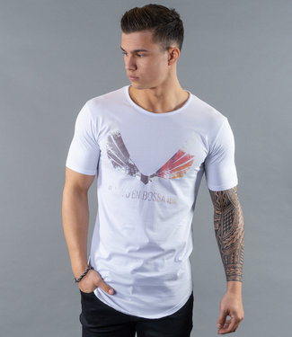 Zumo-T-shirts-SCHORIPOTO-PALM-WING-White