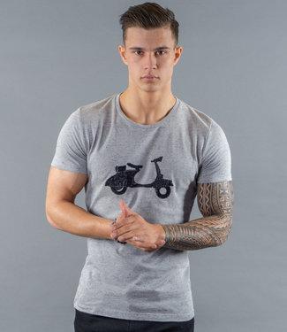 Monavoid-T-shirts-VESPA-Grey