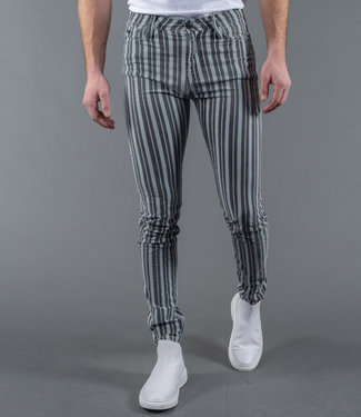 Zumo Jeans MIKE-STRIPE DirtyBlue