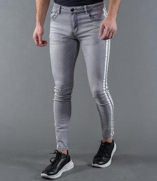 Zumo-Jeans-STEVE-DAMAGED-SIDE-STRIPE-Light-Grey