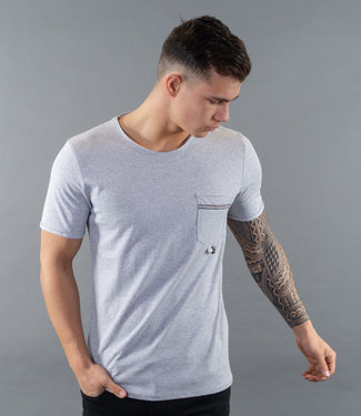 Monavoid TShirts COCKTAIL Grey