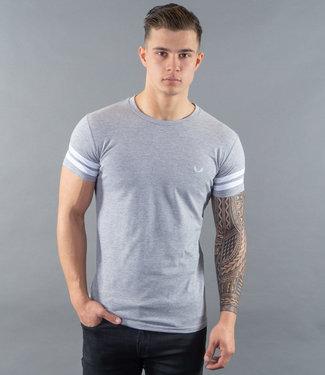 Zumo-T-shirts-FRANKIE-CONTRAST-Grey-White