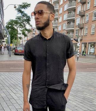 Zumo-Shirts-WILLIS-LINEN-Black