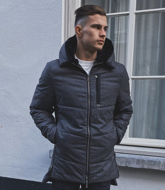 Zumo-Coats-ASPEN-BRUSH-Dark Grey
